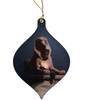 Rest on the Flight into Egypt by Merson Wood Ornament