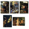 Nativity Scenes Christmas Card Set (25 Cards)