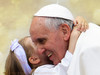Pope Francis with Child Poster