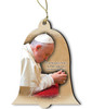 Pope Francis Visit Philadelphia Wood Ornament
