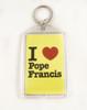 I Love Pope Francis Apostolic Journey Key Chain