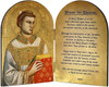 St. Stephen Patron of Deacons Arched Diptych