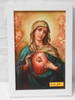 Immaculate Heart of Mary Surrounded by Angels 6x10 Framed Print