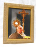Pope Francis with Monstrance 8x10 Framed Print