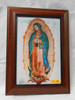 Our Lady of Guadalupe 8x12 Dark Framed Print