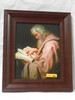 St. Matthew 8x10 Dark Framed Print
