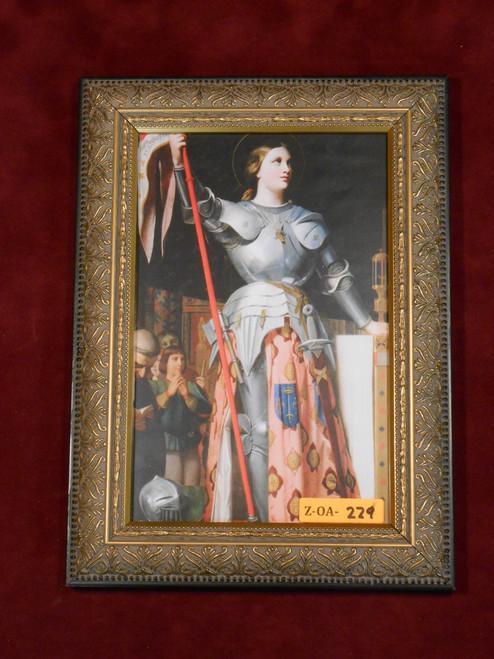 St. Joan of Arc 6x9 Framed Print