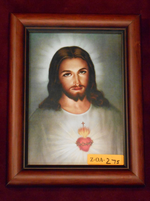 Sacred Heart of Jesus 5x7 Simple Framed Print