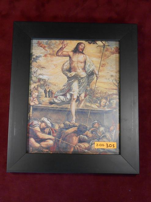 Resurrection 8x10 Black Framed Print