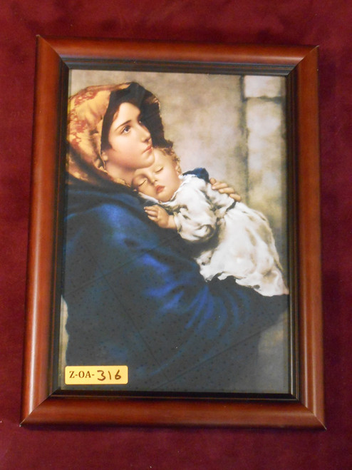 Madonna of the Streets 7x10 Framed Print