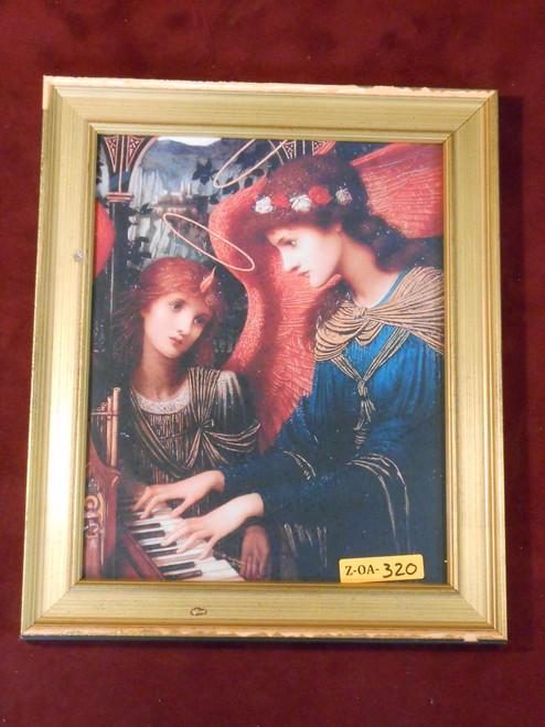 St. Cecelia 8x10 Gold Framed Print
