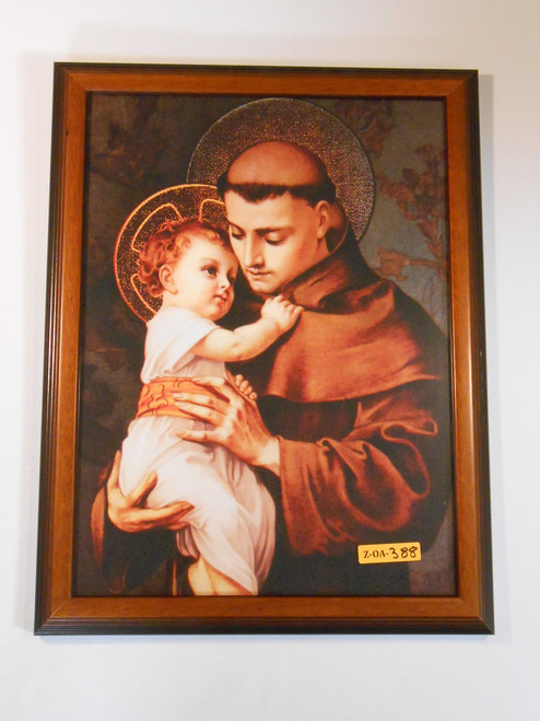 St. Anthony of Padua 11x15 Framed Print