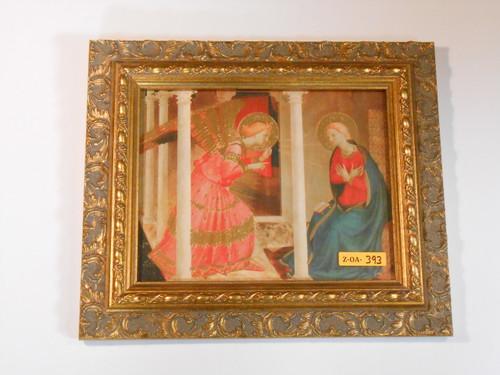 Annunciation 8x10 Ornate Framed Print
