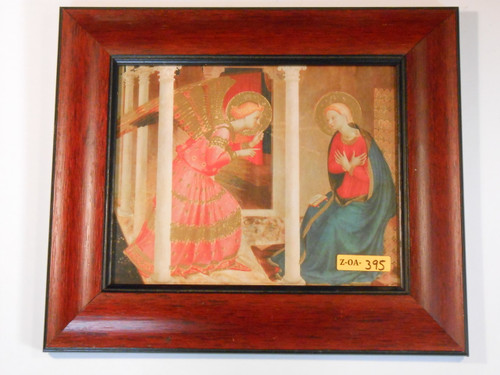 CLEARANCE Annunciation 8x10 Mahogany Framed Print