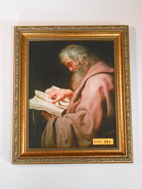 St. Matthew 8x10 Gold Framed Print