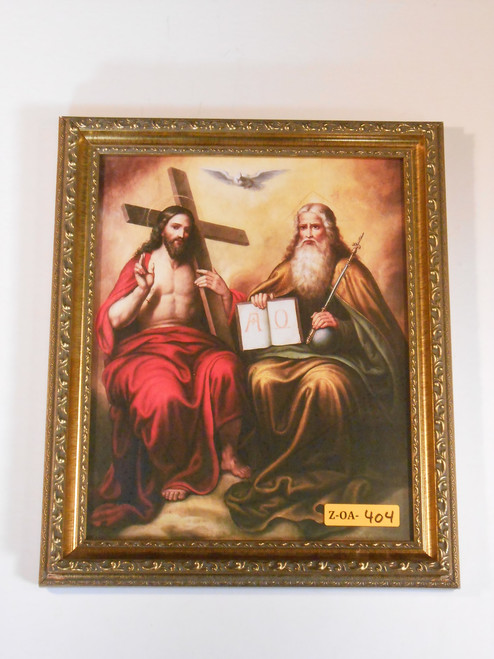 Trinity 8x10 Gold Framed Print