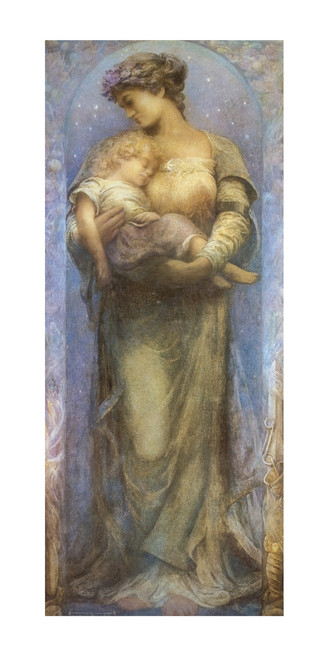 O Holy Night By Henry Raymond Thompson: Fine Art Print