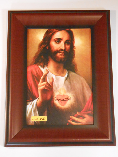 Sacred Heart Blessing 8x12 Framed Print