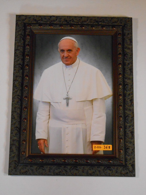 CLEARANCE Pope Francis 8x12 Framed Print