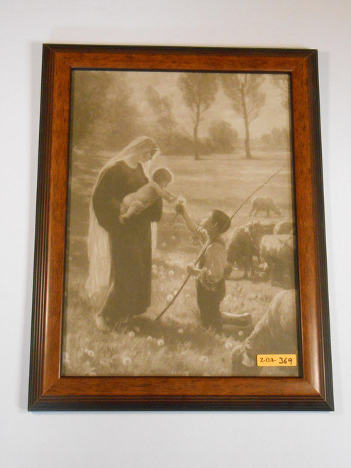 Gift of the Shepherd 11x14 Framed Print
