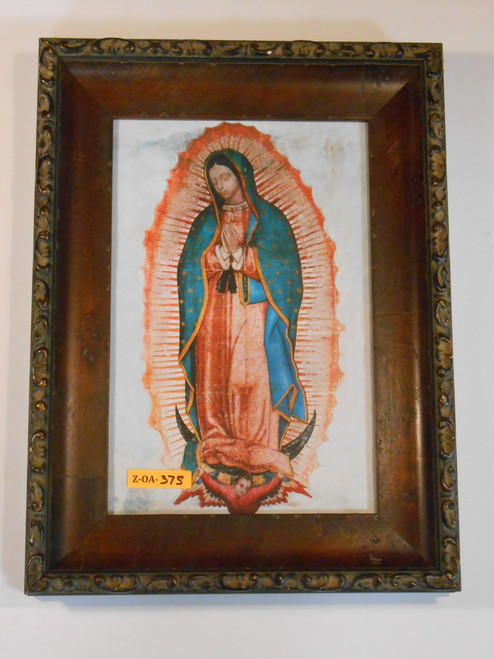 Our Lady of Guadalupe 8x12 Bordered Framed Print