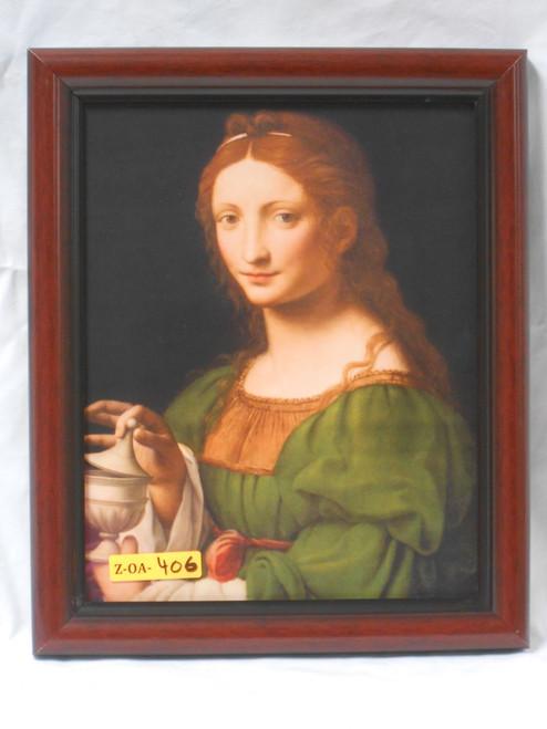 St. Mary Magdalene 8x10 Simply Framed Print