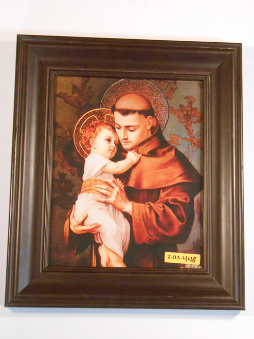 St. Anthony of Padua 8x10 Framed Print