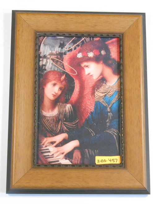St. Cecilia 6x10 Wooden Framed Print