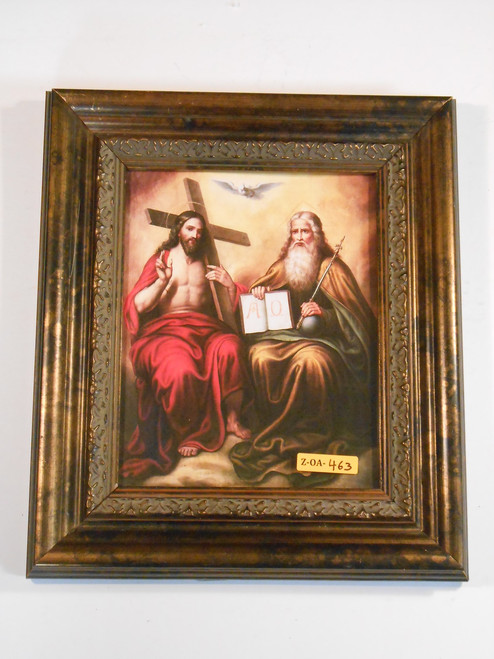 Holy Trinity 8x10 Grand Dark Framed Print