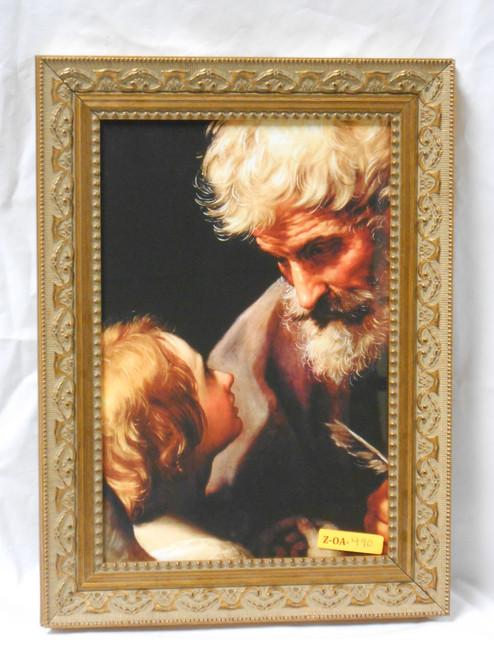 CLEARANCE St. Matthew 8x12 Elegant Framed Print