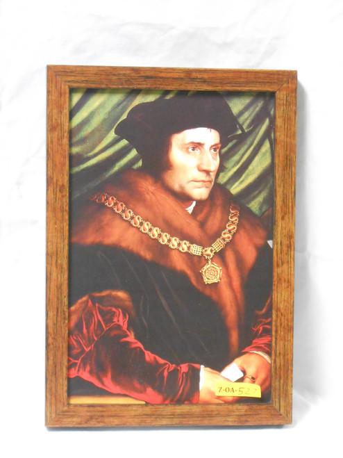 St. Thomas More 8x12 Wooden Framed Print