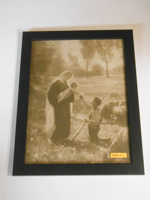 Gift of the Shepherd 12x15 Framed Print