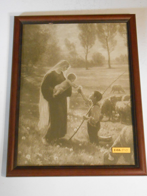 Gift of the Shepherd 12x16 Framed Print