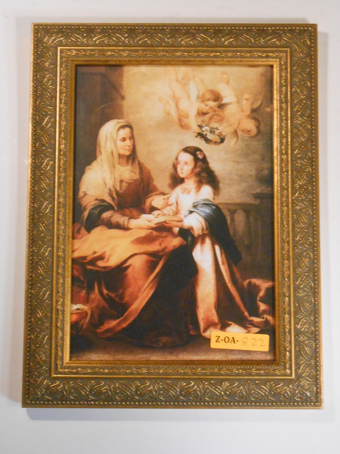 St. Anne with Mary 7x9 Framed Print