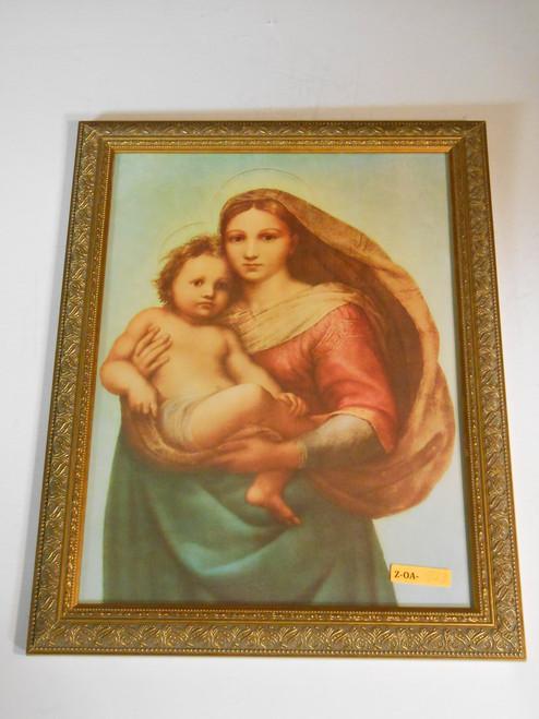 Sistine Madonna by Raphael 11x15 Framed Print