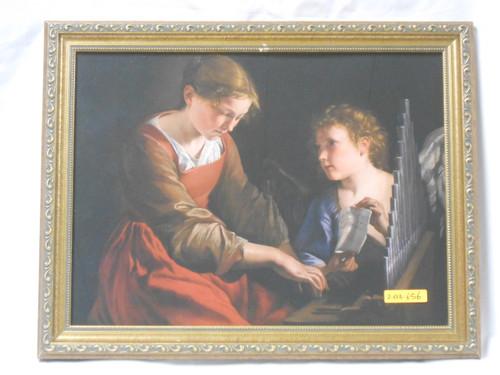St. Cecilia 11x15 Framed Print