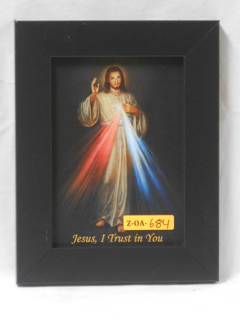 Divine Mercy 5x7 Dark-Framed Print