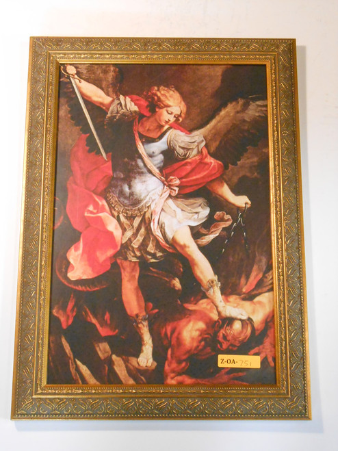 St. Michael the Archangel 9x14 Framed Print