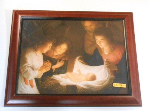 Nativity 12x16 Framed Print