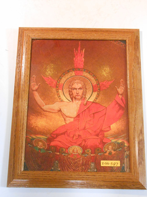 Christ in Majesty 10x13 Framed Print