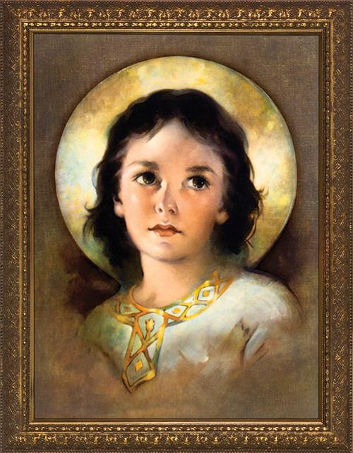 The Christ Child - Gold Framed Art