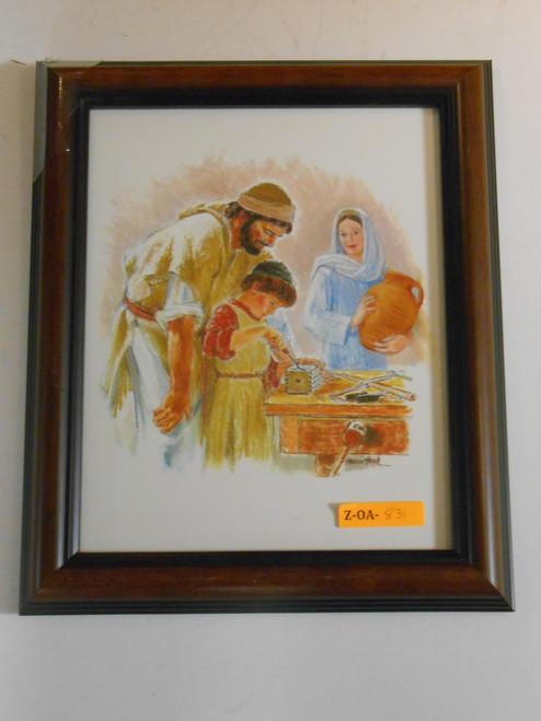 Holy Family Carpentry 8x10 Framed Print