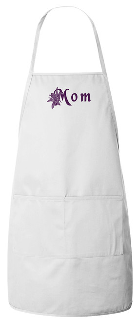 Mom Apron (White)