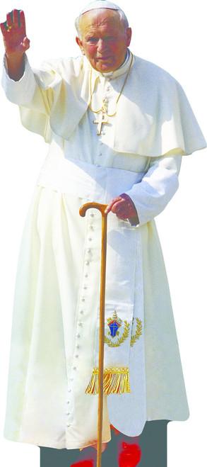 Pope Saint John Paul II Lifesize Standee