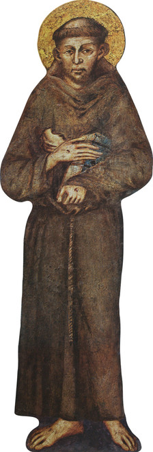 St. Francis Lifesize Standee