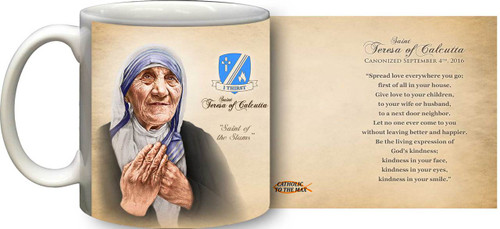 St. Teresa of Calcutta Commemorative Quote Mug