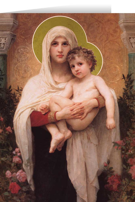 Madonna of the Roses Christmas Cards (25 Cards)
