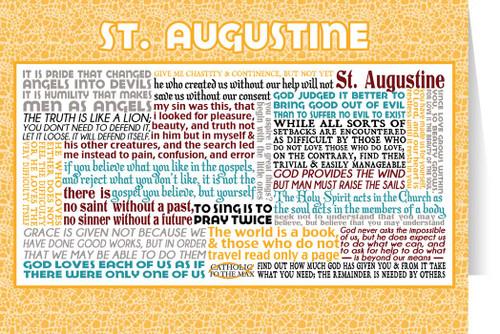 Saint Augustine Quote Card