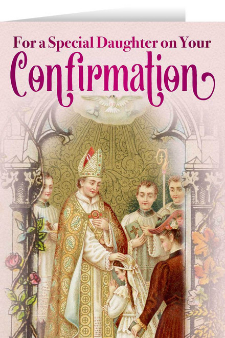 Daughter's Confirmation Greeting Card