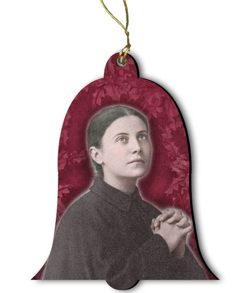 Saint Gemma Galgani Wood Ornament
